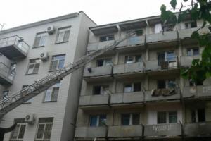 Пожар в общежитии вуза в Астрахани обошёлся без жертв