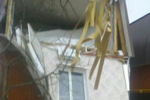 Взрыв бытового газа в Астрахани: есть пострадавшие