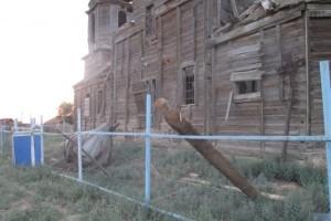 В Астраханской области разрушилась одна из старейших церквей
